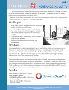 Insurance Industry case study