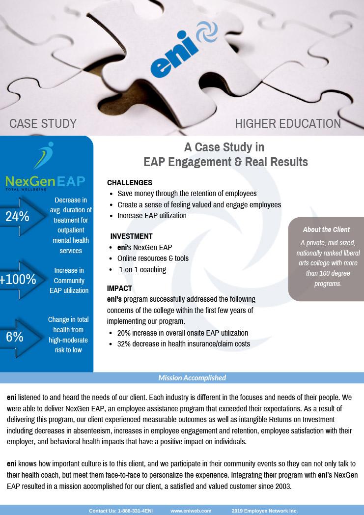 NexGen EAP Higher Education case study